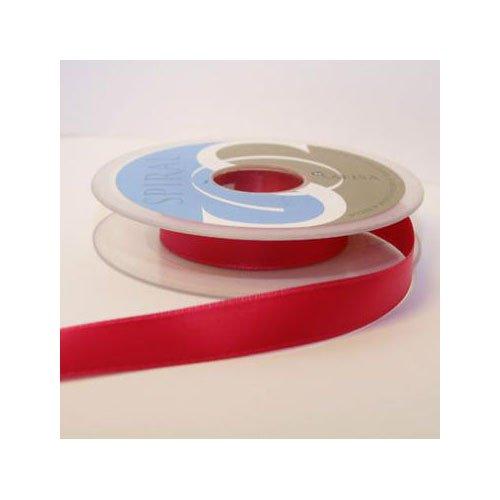 Satin-hutband (Hutband Satin-Band, 15 mm: je 2 x 2 m, Rosa/Fuchsia)