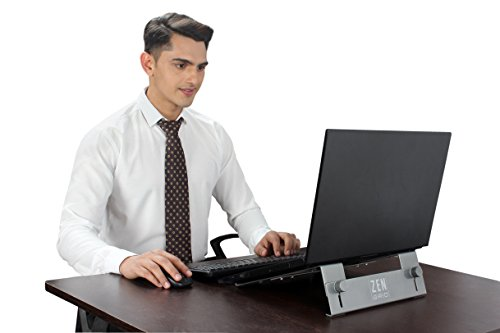 ZEN GRID 3.0 - Aluminium - Adjustable Laptop Stand