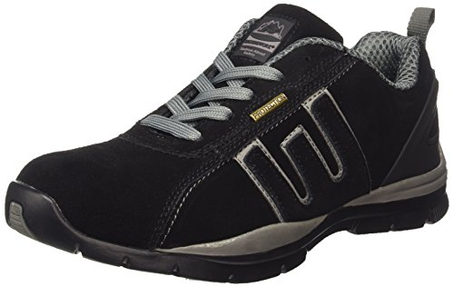 MENS GR86 LIGHTWEIGHT LEATHER UPPERS, STEEL TOE CAP LACE UP SAFETY TRAINER....