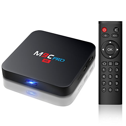 Bqeel M9C PRO Amlogic S905X Quad Core Android 6.0 BOX 1G / 8G 4K WiFi H.265 DLNA Android TV Box (M9C PRO)