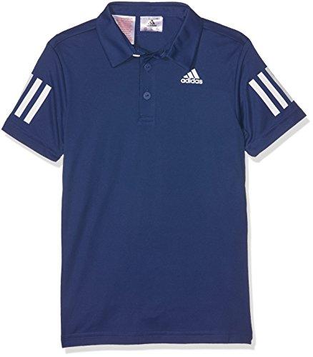 adidas Jungen B Club Poloshirt, Mystery Blue/White, 152