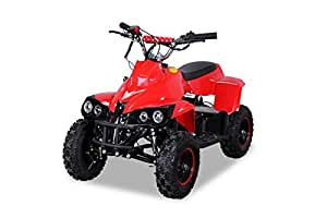 Mini aTV pour enfant aTV pocketquad rhino 49 cc 2 temps pocket farmer quad rouge