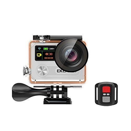 Action Camera EKEN H8R + bastone selfie - argento
