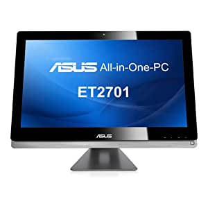 "Asus - Eee Top ET2701INTI-B023K - Ordinateur Tout-en-Un - 27"" (68,5 cm) - Intel core i7 - 2000 Go - 8192 Mo - Nvidia GeForce GT 640M - Windows 8"