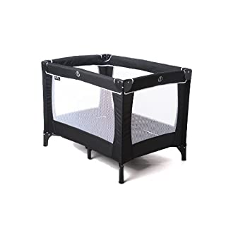Red Kite Black Sleep Tight Travel Cot