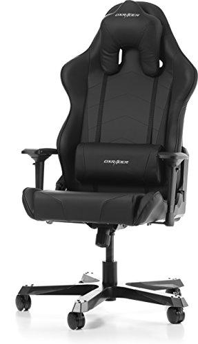 Stuhl Tank (DXRacer (das Original) Tank T29 Gaming Stuhl für PC/PS4/XBOX ONE, ergonomischer Schreibtischstuhl aus Kunstleder, Schwarz)