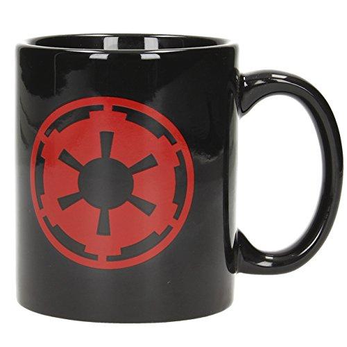 SD Toys SDTSDT89791 Star Wars Mug Symbole Empire et Logo Noir