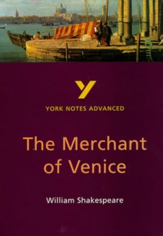 William Shakespeare's Merchant of Venice: Study Notes (York Notes Advanced) by Prof Michael Alexander (1998-03-16)