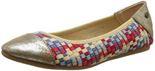 Kaporal Blair, Ballerine Donna, Multicolore (Multicolor Denim), 38 EU