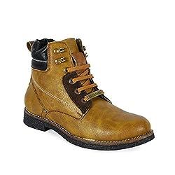Bacca Bucci Men Pu Tan Boots 07 UK