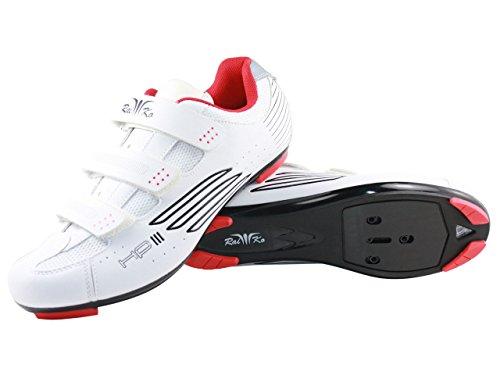 Raiko Sportswear HP3 Rennradschuhe Weiß Q8mVAuy6