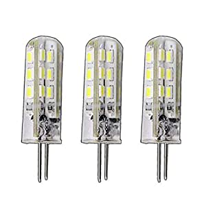 3 lampadine led g4 dimmerabili ad alta potenza da 1 5 for Lampadine led 1 watt