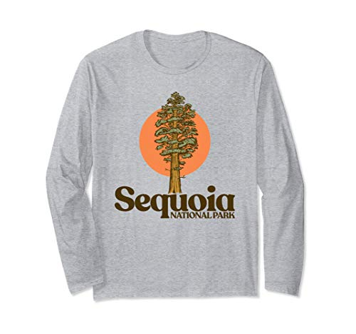 Sequoia National Park General Sherman Tree Graphic Langarmshirt