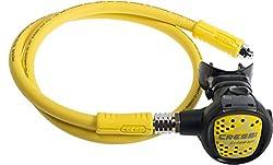 Cressi Premium Oktopus mit gelben Schlauch