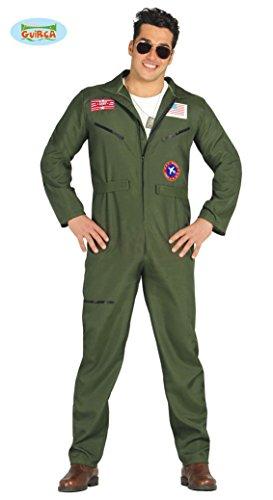 Imagen de disfraz de piloto de caza del ejército para hombre