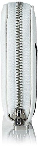 Armani Jeans Damen 9280887p760 Clutches, 2x10x19 cm Weiß (BIANCO 00010)