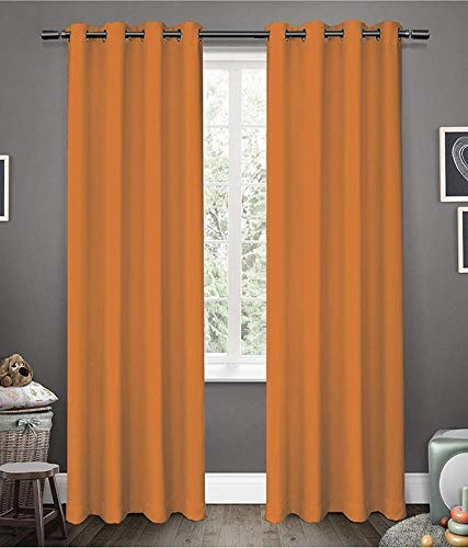 check MRP of orange curtains for bedroom Generic