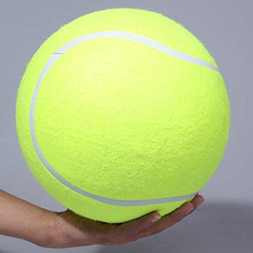 Riesentennisball Hund Kaut Spielzeug Outdoor oder im Zimmer zu Hause zum Spielen und Trainieren Das Beste Für Die Gesundheit Eines Hundes Durchmesser 24cm - 3