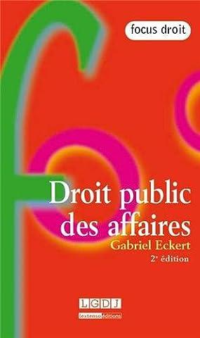 Droit Public Des Affaires - Droit public des