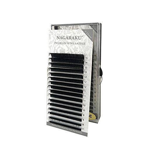 c62540c96fa NAGARAKU All size in 1 case,High quality eyelash extension mink,individual eyelash  extension