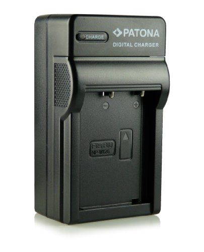 3in1 Ladegerät · 100% kompatibel mit NP-W126 Akkus für FujiFilm FinePix X-Pro 1 | HS30 EXR | HS30EXR | HS-30EXR | HS33 EXR | HS33EXR | HS-33EXR | HS50EXR | X-E1 | X-M1 und weitere... (Fuji Exr Digitalkamera)
