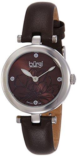 41%2BVUC7O%2BvL - Burgi Brown Women BUR128BR watch