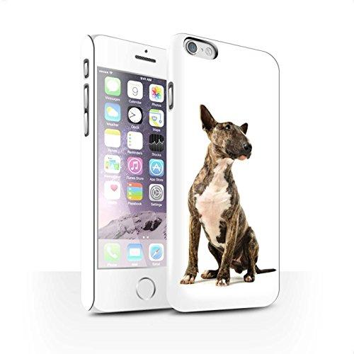 Clipser Matte Coque de Stuff4 / Coque pour Apple iPhone X/10 / Cocker Spaniel Design / Chiens Collection Bull Terrier