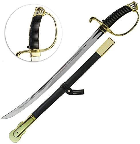 Napoleon Regent Schwert mit Scheide (Schwert Kostüme Piraten)