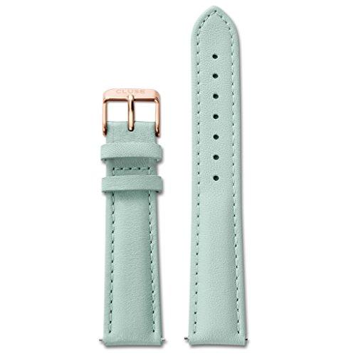 CLUSE-Uhrband-Wechselarmband-LB-CLS032-Ersatzband-CLS032-Uhrenarmband-Leder-18-mm-mint-ros