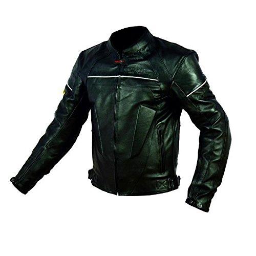 Blouson moto en cuir