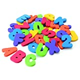 COFCO kids Bath Toys Letters and Numbers 26 alphabet and 10 Numbers total 36 pcs