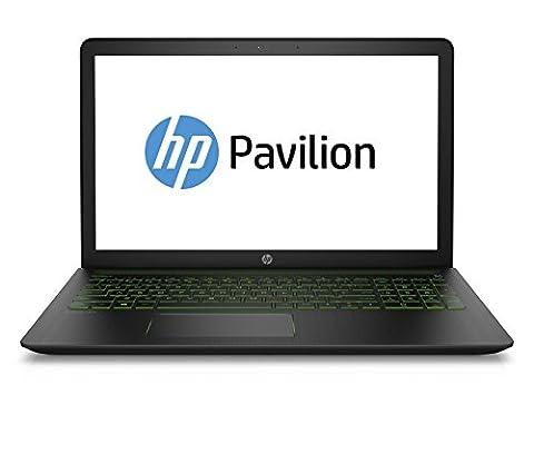 HP Pavilion Power 15-cb005ng 39,6 cm (15,6 Zoll) Laptop (Intel Core i7-7700HQ, 1 TB HDD, 256 GB SSD, 16 GB RAM, NVIDIA GeForce GTX 1050, Windows 10 Home 64)