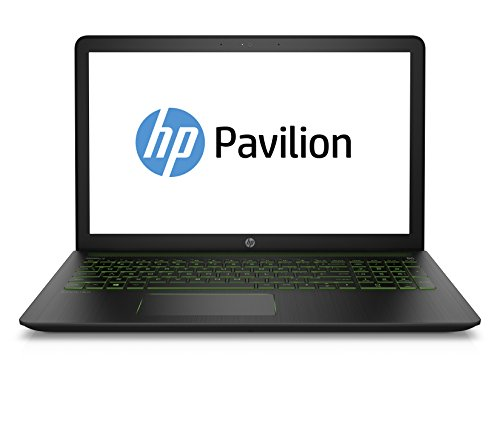 HP Pavilion Power 15-cb005ng 39,6 cm (15,6 Zoll) Laptop (Intel Core i7-7700HQ, 1 TB HDD, 256 GB SSD, 16 GB RAM, NVIDIA GeForce GTX 1050, Windows 10 Home 64) schwarz