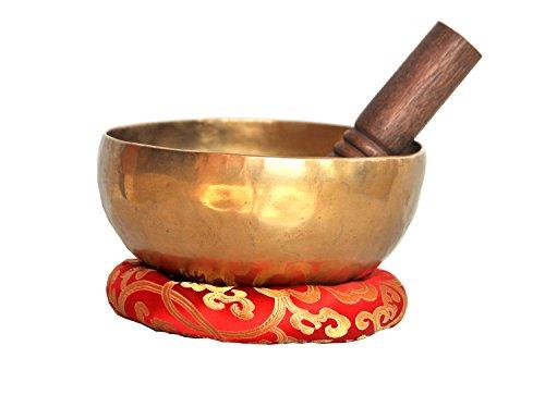 7 'Superb B corona Chakra cuenco tibetano antiguo, Meditación cuencos,...