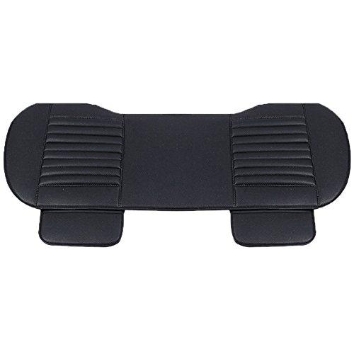 Quanjucheer auto anteriore posteriore coprisedile pad protector mat comodo cuscino per sedia, nero , back
