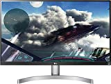 LG 27UK600-W - 69 cm (27 Zoll), LED, IPS Panel, 4K-UHD-Auflösung, AMD FreeSync, HDR 10, HDMI, DisplayPort