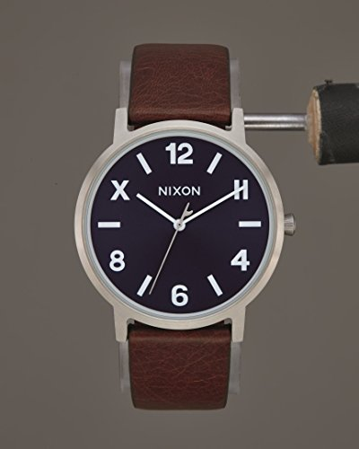 07f68c4c6b7b Action Nixon Porter Leather Blue Brown Cali Meine Angebote