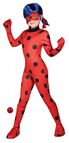 Imagen de yiija fast fun  disfraz ladybug, 9 11 años viving costumes 231159