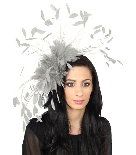 giant-eagle-owl-feather-fascinator-hat-for-ascot-kentucky-derby-weddings-grey