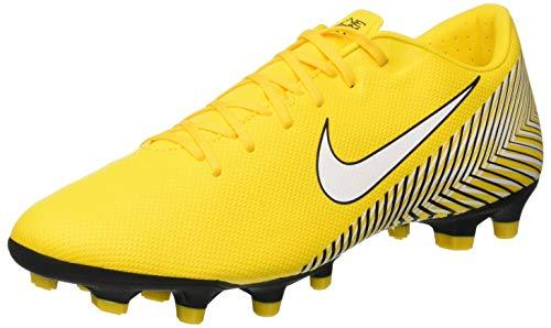 Nike Herren Vapor XII Academy Neymar MG Fußballschuhe, Gelb/Schwarz, 42.5 EU