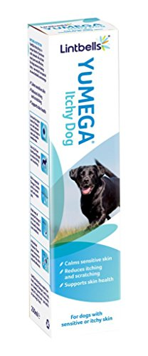 Lintbells YuMEGA Itchy Dog Supplement for dogs with itchy or sensitive skin (250ml)