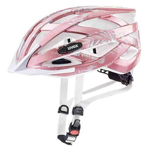 Uvex Air Wing Kinder Fahrrad Helm Gr. 52-57cm rosa/weiß 2019