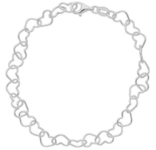 Bracelet - BRS-K41058 - Pulsera de mujer de plata de ley, 19 cm