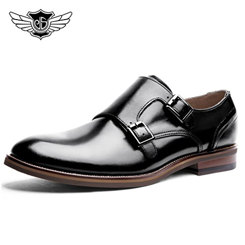 Desai-Mens-Formal-Real-Leather-Double-Monk-Strap-Shoes-in-BlackBrown