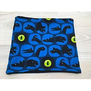 Einfacher Loop Dinosaurier blau