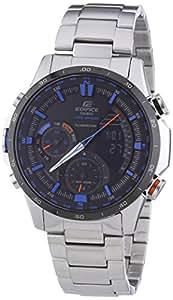 Casio Herren-Armbanduhr XL Edifice Premium Chronograph Quarz Edelstahl ERA-300DB-1A2VER