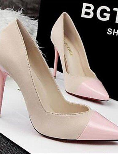WSS 2016 Chaussures Femme-Habillé / Soirée & Evénement-Noir / Rose / Rouge / Gris / Bordeaux-Talon Aiguille-Talons-Talons-Synthétique burgundy-us5 / eu35 / uk3 / cn34