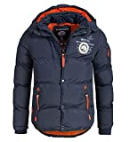 Geographical Norway - Doudoune Homme Verveine Marine-Taille - L