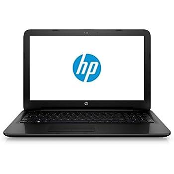 HP Einsteiger (15-ac125ng) (15,6 Zoll Full-HD Display), Notebook (1000GB Festplatte (HDD), 8GB Flash-Speicher, 8GB Arbeitsspeicher, DVD-Brenner und Windows 10) schwarz