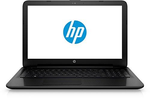 HP Laptop (15-ac125ng) (15,6 Zoll Full-HD Display), Notebook (1000GB Festplatte (HDD), 8GB Flash-Speicher, 8GB Arbeitsspeicher, DVD-Brenner und Windows 10) schwarz